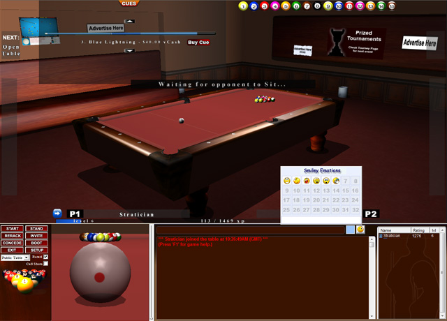 Screenshot of iPool
